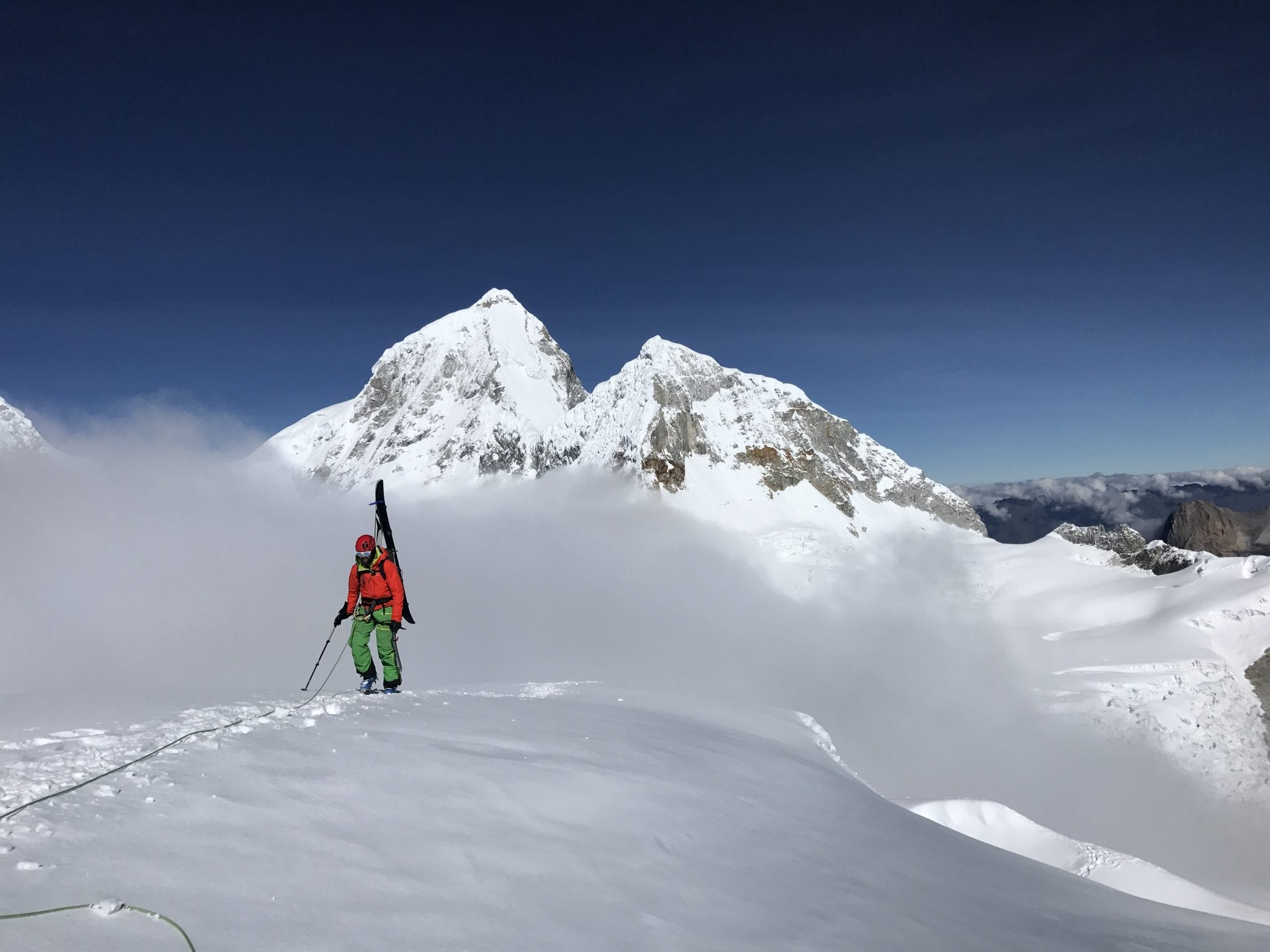 Peru: High Altitude Ski Mountaineering